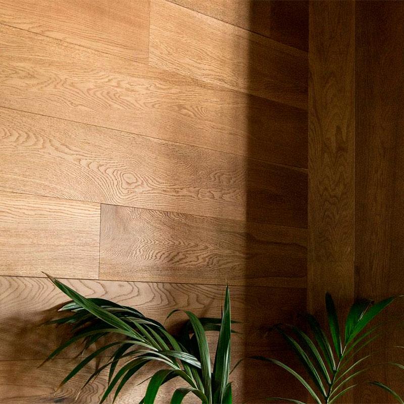 Recubrimiento de madera paredes y techo en Castellón