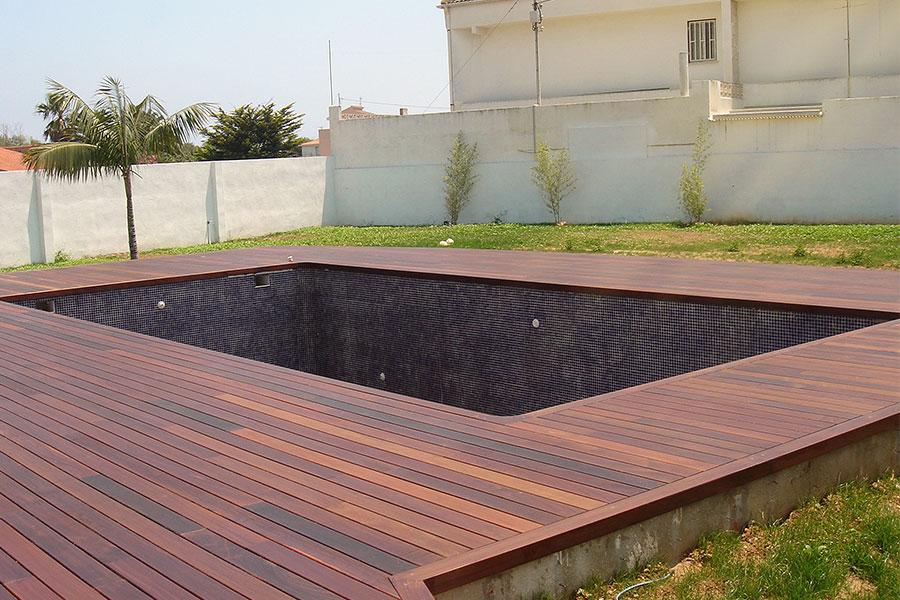 Tarima exterior para jardín Vila-real
