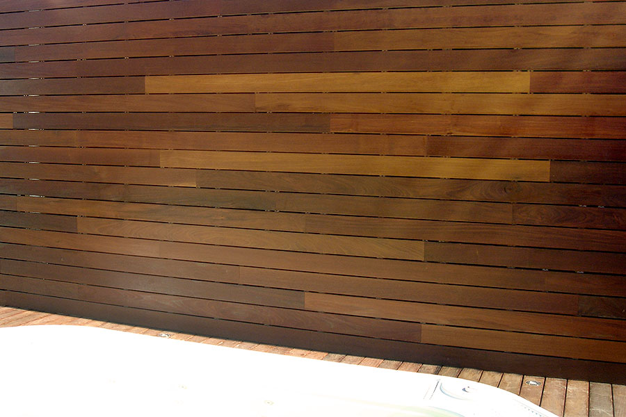 Revestimiento madera pared Benicassim