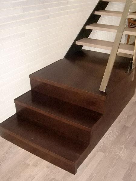 Escalera madera Castellon