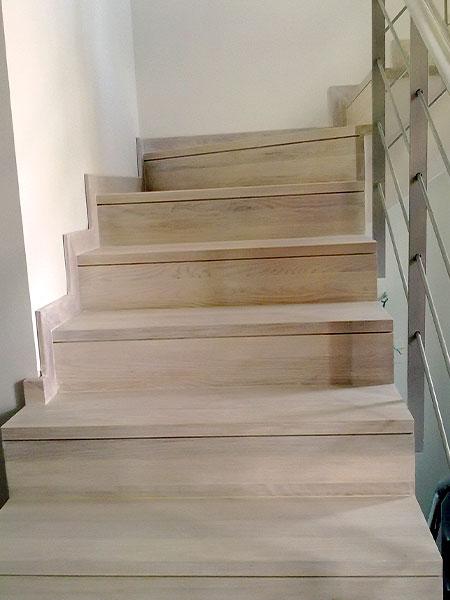 Recubrimiento de escaleras en Benicassim